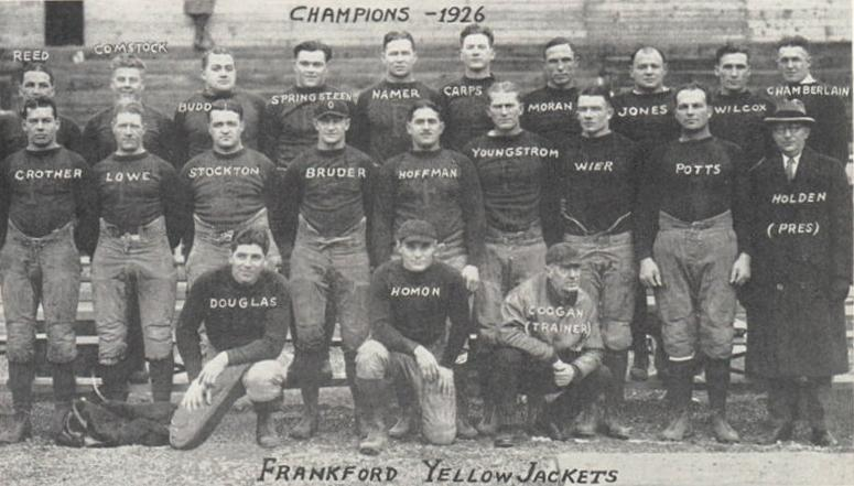Frankford Yellow Jackets de 1926