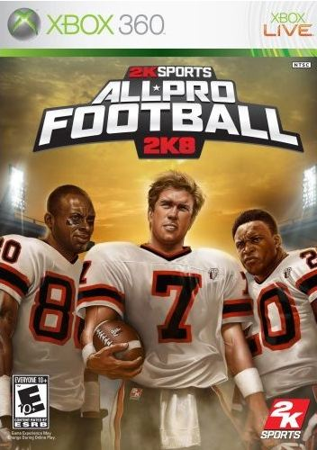 2K Sports All Prof Football 2K8