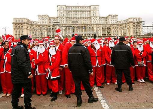 Romanian Santas