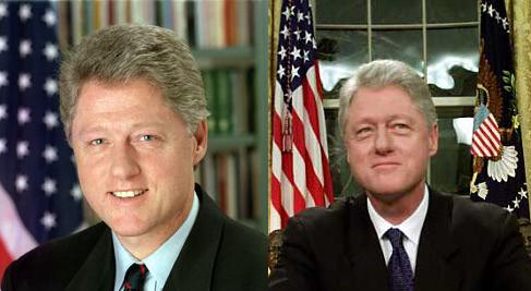 Clinton Before & After