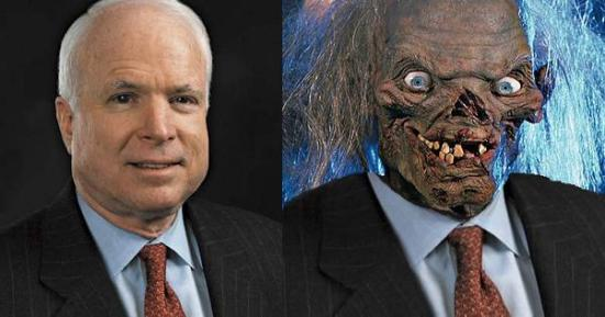 John McCain Before & After